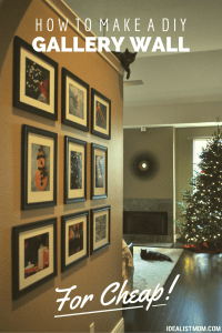 How to Make a DIY Gallery Wall for Cheap