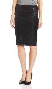 Bailey 44 Women's Satellite Snake Embossed Pencil Skirt