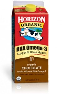 Horizon Organic Lowfat Chocolate Milk Plus DHA Omega-3
