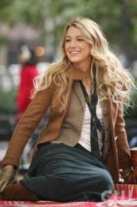 Blake Lively as Serena in Gossip Girl