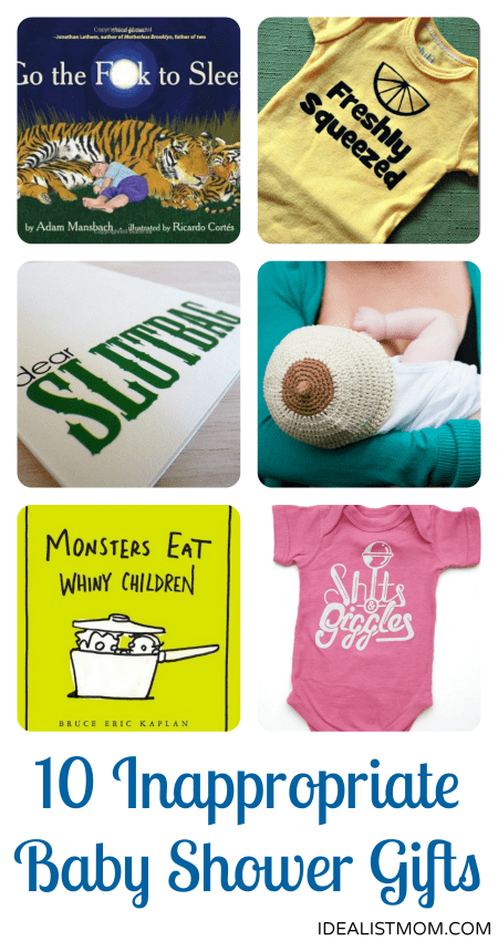 slightly inappropriate but still awesome baby shower gifts, Baby shower