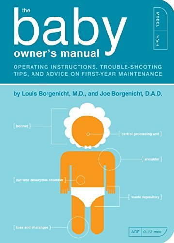 Funny baby shower gift: Baby owner's manual