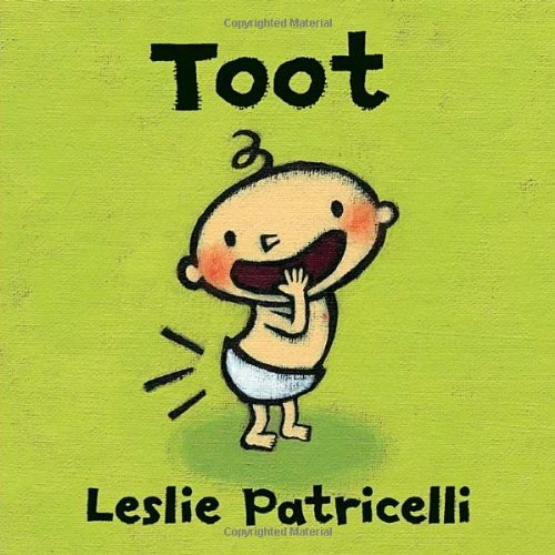 Funny baby shower gift: Toot book