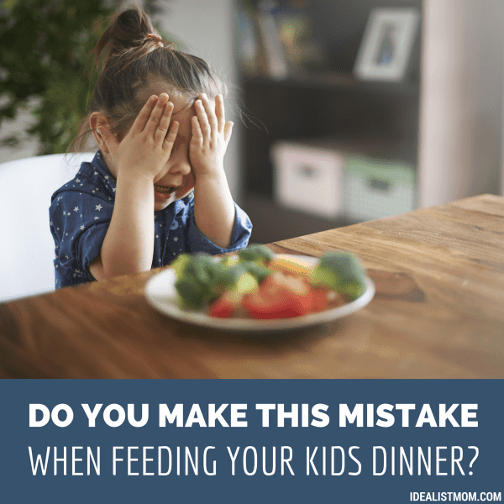 Do You Make This Mistake at the Dinner Table?