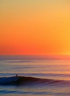 Sunset vague mimizan