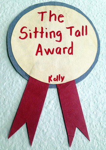 The Sitting Tall Award