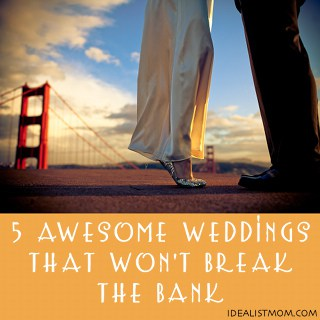 5 Awesome Low-Cost Wedding Receptions