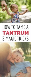 How to Handle Temper Tantrums Like a Ninja Mom