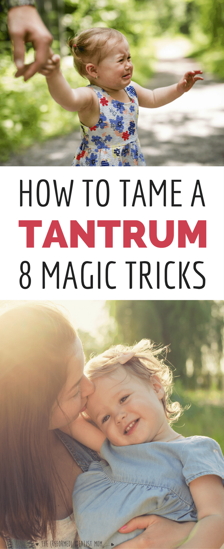 How to Handle Temper Tantrums Like a Ninja Mom