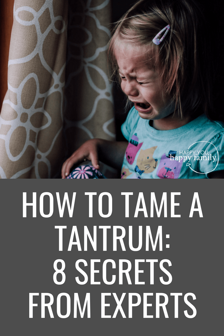 How to Deal With Toddler Tantrums Like an Expert...With a Cheat Sheet