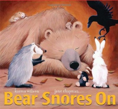 Find a great rhyming book like Bear Snores On to lull your kid to sleep