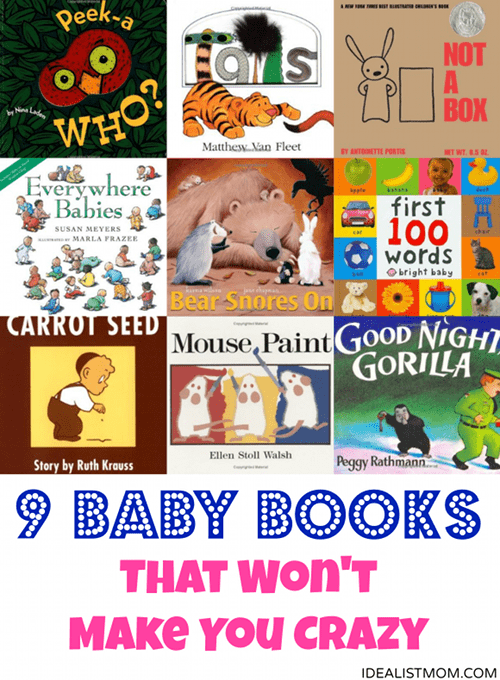 9 Best Books for Babies That Won't Make You Crazy