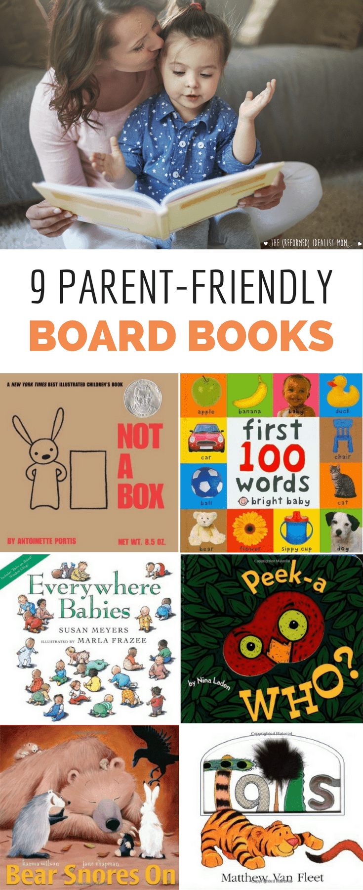 9 Baby Books That Won't Make You Gouge Out Your Eyes