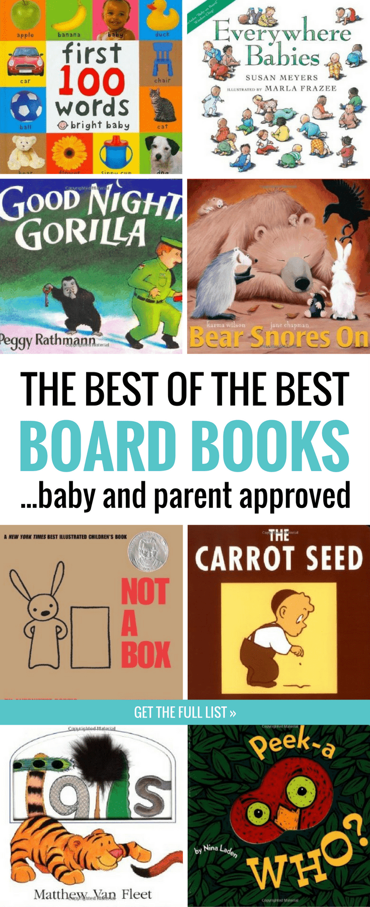 The Best Baby Board Books That Will Delight Your Baby (And You)