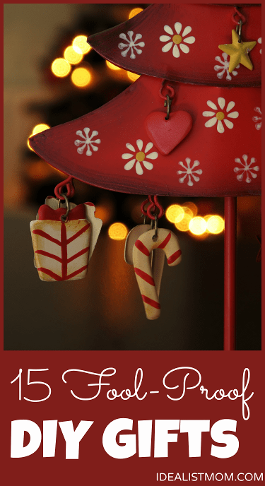 15 Fool-Proof DIY Christmas Gifts