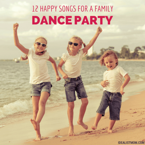 12 Happy Songs: Dance Music For Kids And Parents, Too