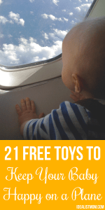 21 Free Toys to Keep Your Baby Happy on a Plane