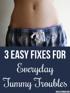 3 Easy Fixes for Everyday Tummy Troubles
