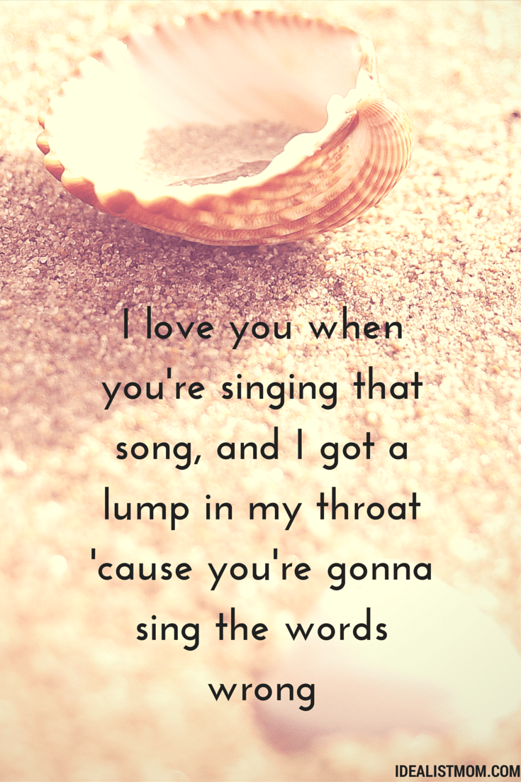 Quotes About Love From Songs : ... Quotes About Being in Love From the Best Unknown Love Songs