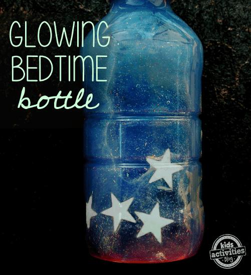 Glowing Sensory Bottle for Bedtime