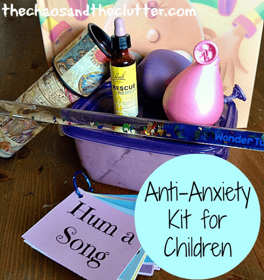 Create Your Own Anti-Anxiety Kit for Children
