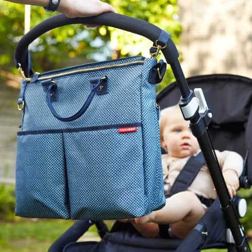 Baby Must Haves for New Dads: Skip Hop Duo Special Edition Diaper Bag