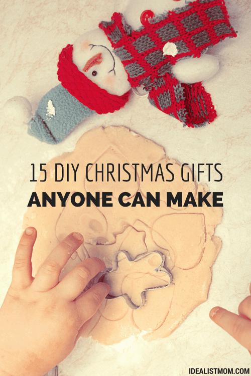 15 DIY Christmas Gifts Anyone Can Make - And Everyone Will Love