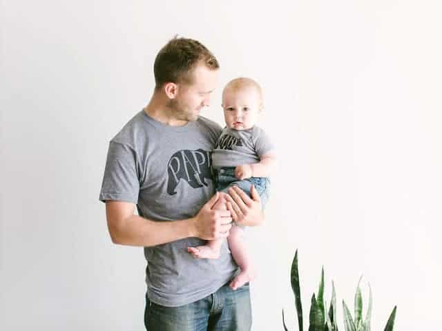 Gifts For New Dads Papa Bear And Baby Shirts