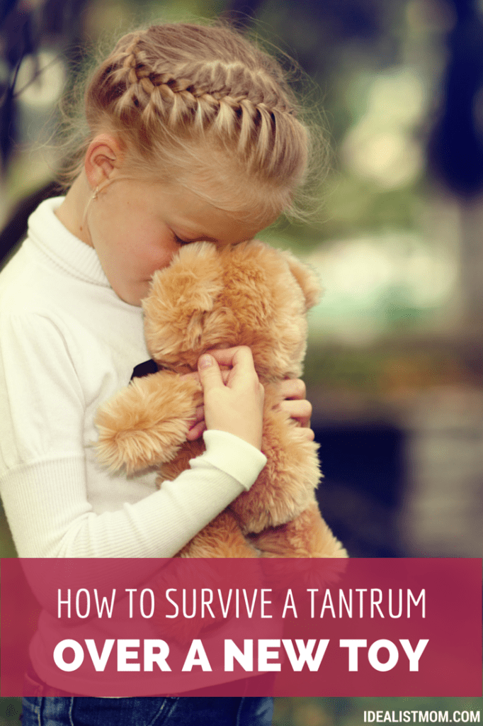 How to Deal With Tantrums at the Store