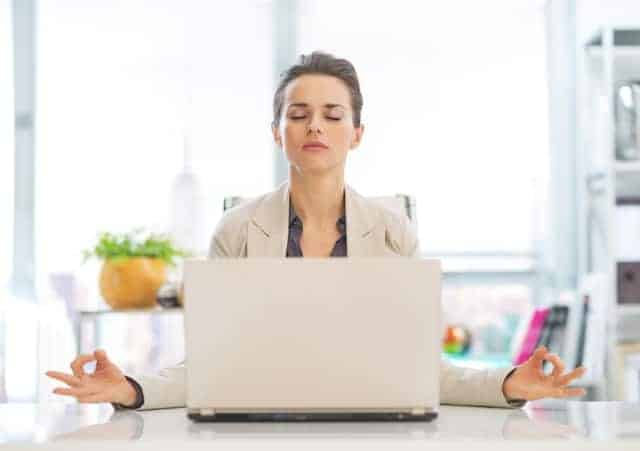 How to deal with stress- yoga at work