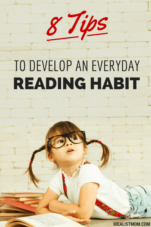How to Develop a Reading Habit – 8 Easy Tricks From a Bookworm