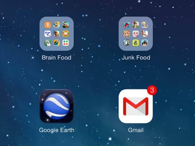 A Simple Trick to Limit Screen Time - Brain Food vs. Junk Food