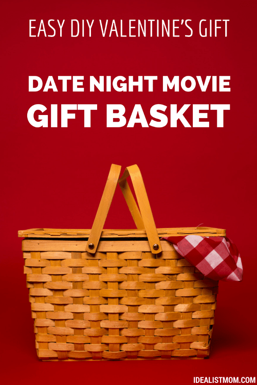 to make the date gift basket 4 easy steps