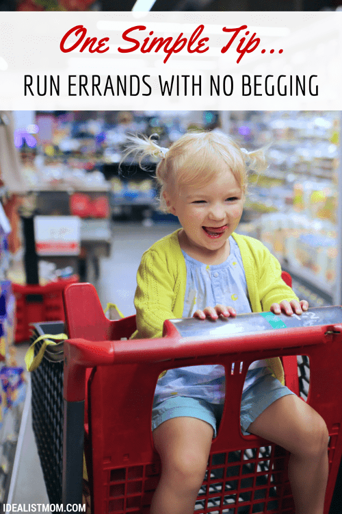 A Simple Trick to Run Errands With No Whining From Your Kids