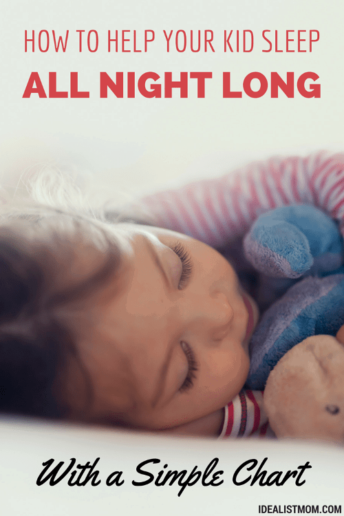 This Simple Chart Will Make Your Kid Sleep Through the Night