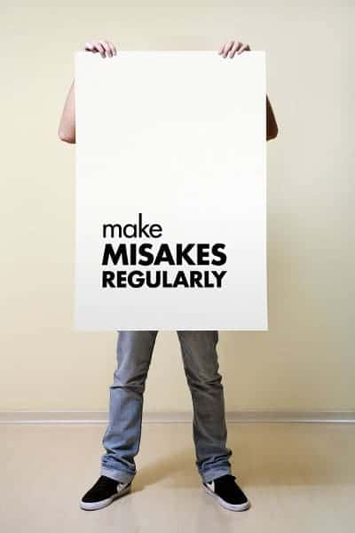 Perfectionist Quotes: Make Mistakes Regularly