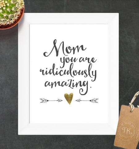 Mother's Day Gift Ideas: Flattering Quotes