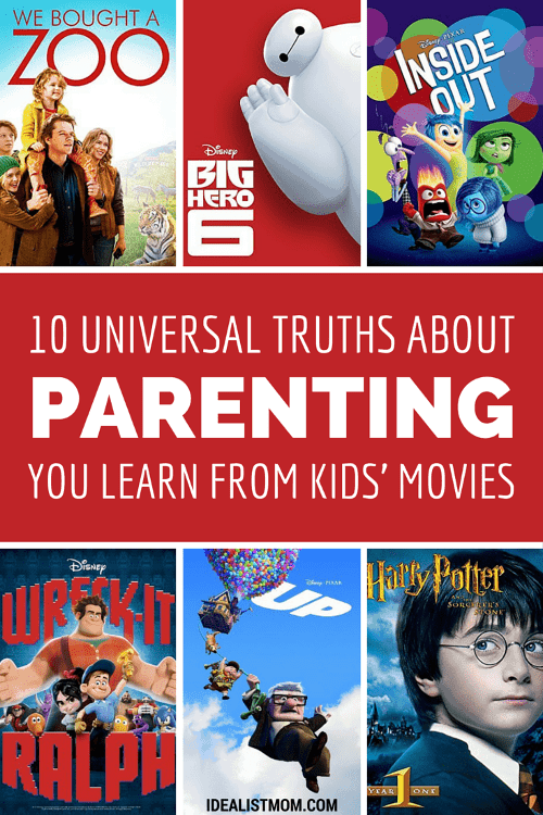 10 Essential Quotes for Parents From Kids' Movies