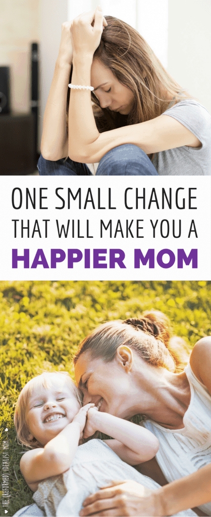 I Found the Secret to Being a Happy Mom