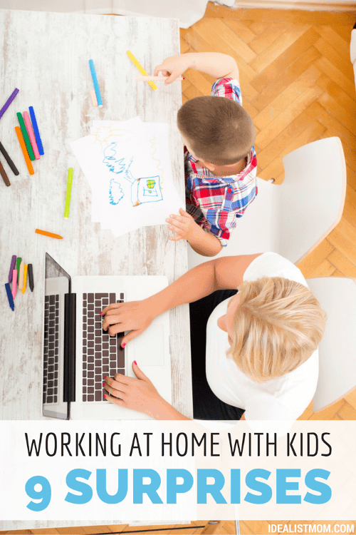 9 Surprising Things You Learn As a Work At Home Mom