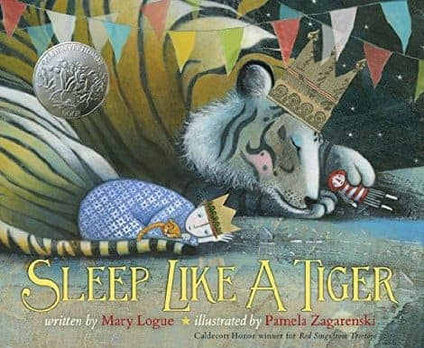 This bedtime book steps your child through calming her body down