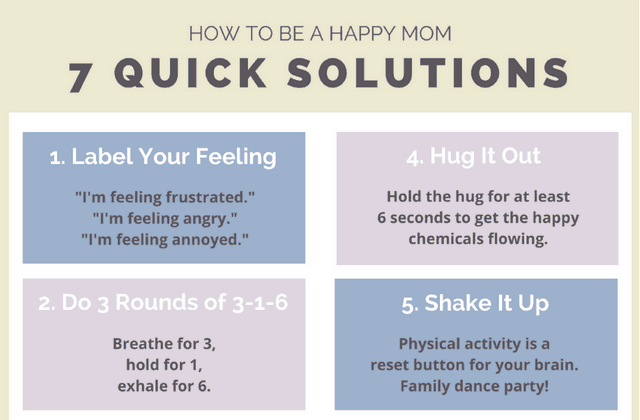 How to Be a Happy Mom: Science Says Do These 7 Things