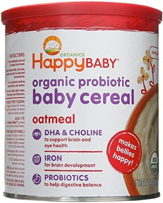 Add your own flavor to baby oatmeal for a quick meal