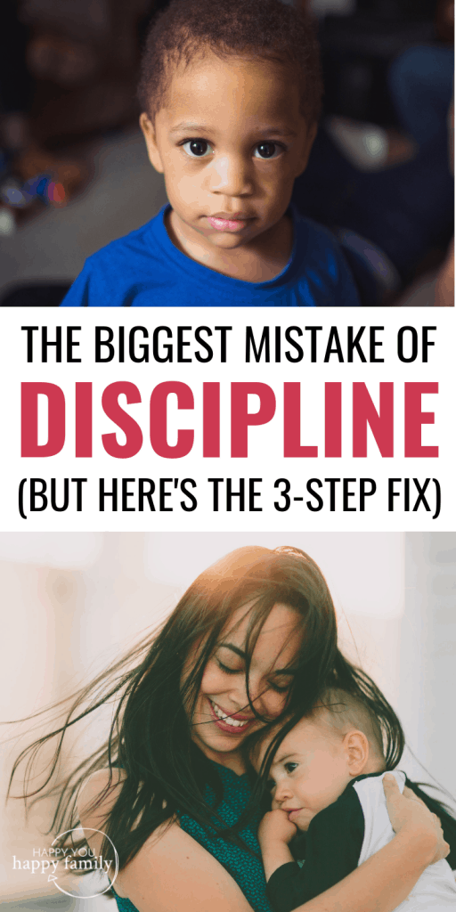 When you discipline your child, saying this is a big mistake