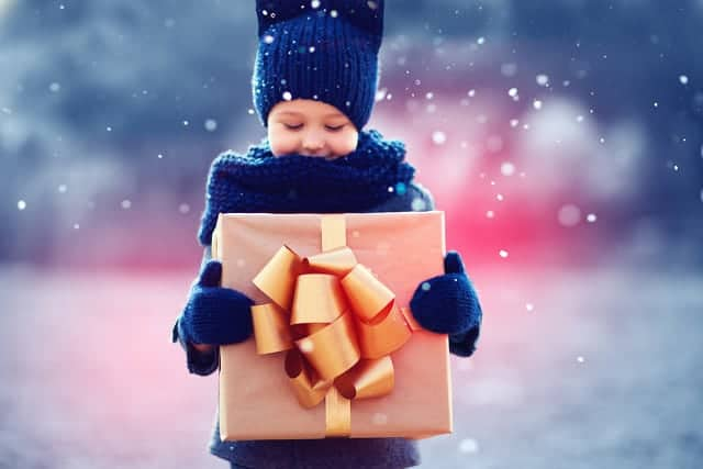 Does giving four gifts for Christmas ruin the holiday for kids?