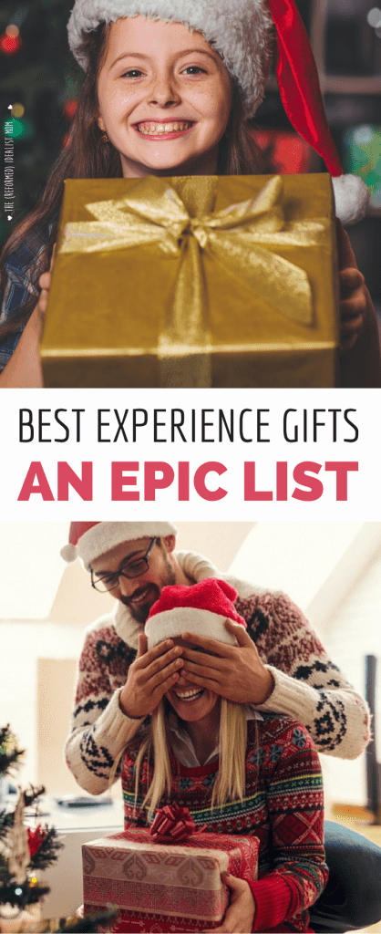 The Ultimate (Most Epic!) List of the Best Experience Gift Ideas