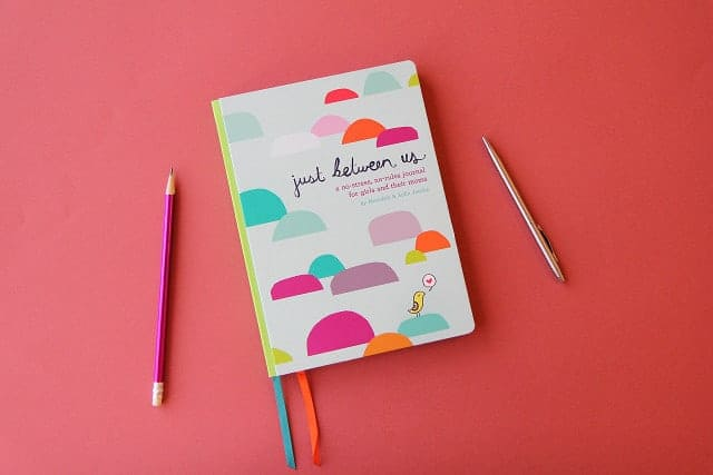 This journal for kids is the perfect fit for moms and daughters who want to connect