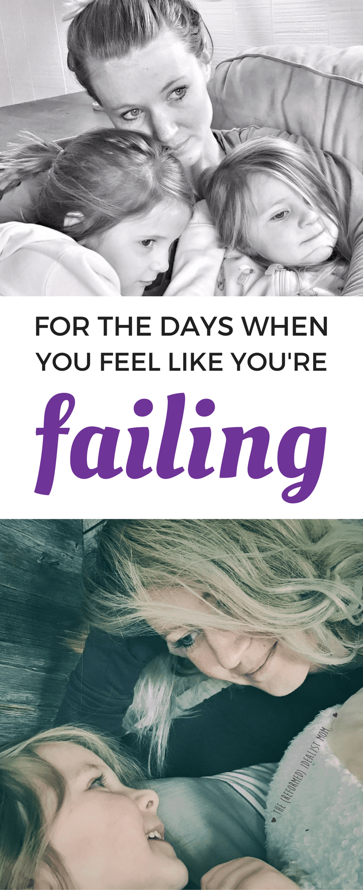 This beautiful letter from one mom to her kids is a MUST read for every parent. On the days when you feel like you're failing as a parent, read this. You are not alone, and you are not a failure as a mom!
