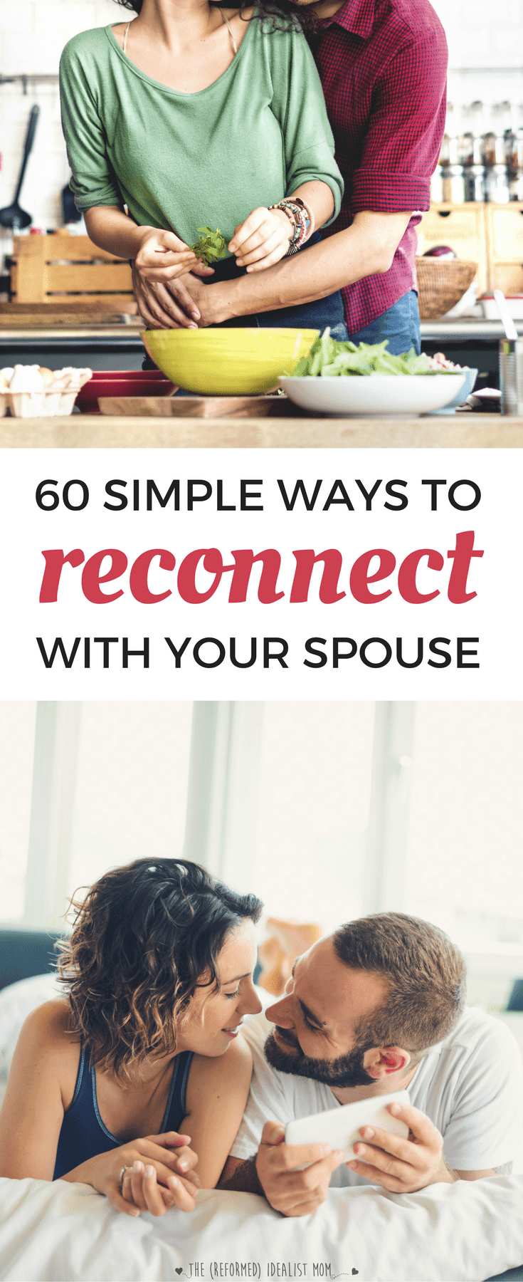 how to reconnect with husband