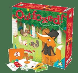 Outfoxed: gra planszowa dla dzieci